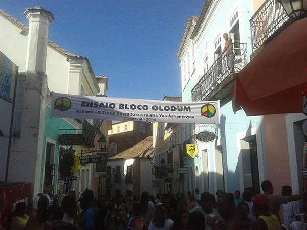 Rua do evento